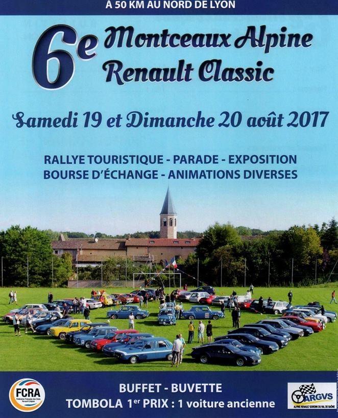 6° Alpine Renault Classic Montceaux (01)